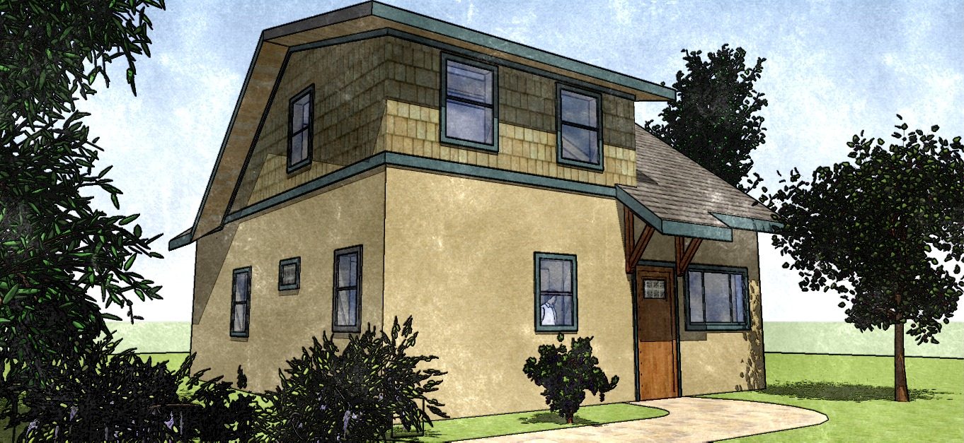 Cottage 850 2D Landscape 10_Foto